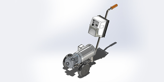 The Ampco AC+ Pump Featured On The Cellar Cart Is Built Of 316L Stainless  Steel And Includes A 304 Stainless Steel Adapter, Making This Centrifugal  ...