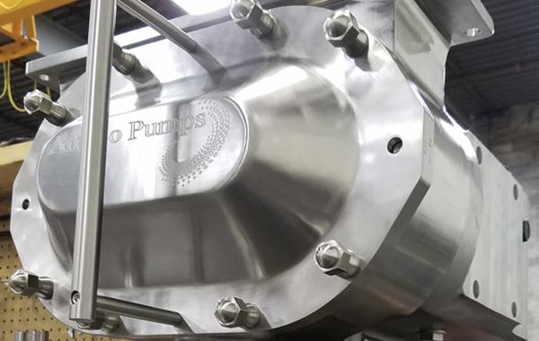 Ampco Pumps Patented ZP3 Positive Displacement Pumps