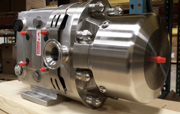 Ampco Pumps Patented ZP3 Positive Displacement Pumps